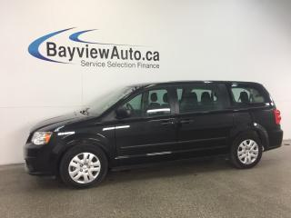 Used 2016 Dodge Grand Caravan SE- 3.6L! ECO MODE! CRUISE! CLEAN TRADE! LOW KM! for sale in Belleville, ON