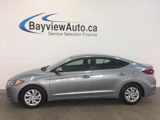 Used 2017 Hyundai Elantra - AUTO! HEATED SEATS! A/C! BLUETOOTH! CRUISE! for sale in Belleville, ON