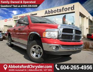 Used 2004 Dodge Ram 1500 SLT/Laramie LOW KM! for sale in Abbotsford, BC