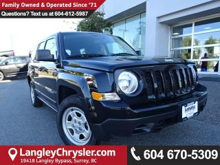 Used 2016 Jeep Patriot Sport/North *ONE OWNER*LOCAL BC SUV* for sale in Surrey, BC