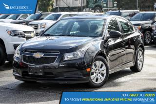 Used 2014 Chevrolet Cruze 1LS AM/FM Radio and Air Conditioning for sale in Port Coquitlam, BC