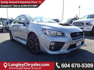 Used 2017 Subaru WRX Sport-tech *ACCIDENT FREE * LOCAL BC CAR * for sale in Surrey, BC