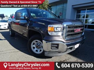 Used 2015 GMC Sierra 1500 Base *ACCIDENT FREE * LOCAL BC TRUCK* for sale in Surrey, BC