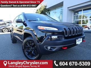 Used 2016 Jeep Cherokee Trailhawk *ACCIDENT FREE*ONE OWNER*LOCAL BC SUV* for sale in Surrey, BC