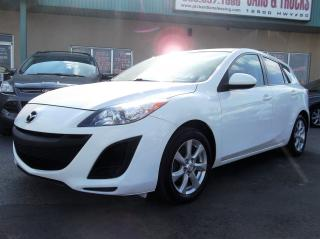 Used 2011 Mazda MAZDA3 GX 3 MONTHS OF SIRIUSXM FREE* $71.53 BI WEEKLY! $0 DOWN! CERTIFIED! for sale in Bolton, ON