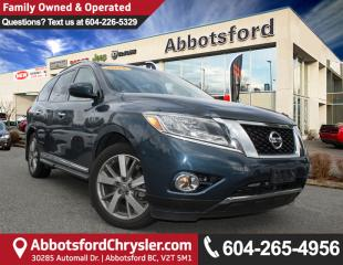 Used 2016 Nissan Pathfinder Platinum *ACCIDENT FREE* *LOCALLY DRIVEN* for sale in Abbotsford, BC