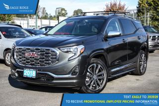 New 2018 GMC Terrain Denali Navigation, Sunroof, and Heated Seats for sale in Port Coquitlam, BC