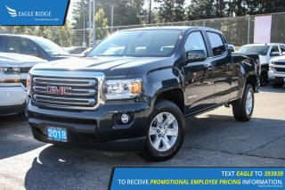 New 2018 GMC Canyon SLE Satellite Radio and Backup Camera for sale in Port Coquitlam, BC