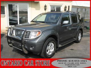 Used 2007 Nissan Pathfinder SE Off Road 4X4 SUNROOF !!!NO ACCIDENTS!!! for sale in Toronto, ON