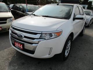 Used 2014 Ford Edge LOADED SEL EDITION 5 PASSENGER 3.5L - V6.. AWD.. LEATHER.. HEATED SEATS.. NAVIGATION.. BACK-UP CAMERA.. for sale in Bradford, ON