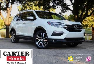 Used 2016 Honda Pilot Touring + WHITE + NAVI + BLUERAY + CERTIFIED! for sale in Vancouver, BC