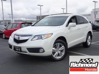 Used 2014 Acura RDX Balance of Factory Warranty! for sale in Richmond, BC