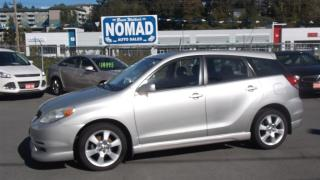 Used 2004 Toyota Matrix XRS for sale in Abbotsford, BC