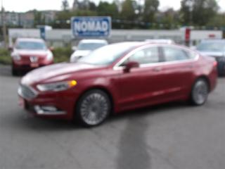 Used 2017 Ford Fusion SE AWD ECOBOOST WITH NAVIGATION & TECH PACKAGE for sale in Abbotsford, BC