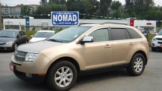 Used 2007 Lincoln MKX AWD with HEATED/COOLED SEATS for sale in Abbotsford, BC