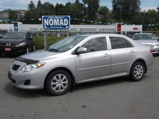 Used 2010 Toyota Corolla CE 5 SPEED GAS SAVER for sale in Abbotsford, BC