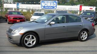Used 2004 Infiniti G35 LUXURY-LEATHER-MOONROOF for sale in Abbotsford, BC