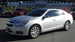 Used 2013 Chevrolet Malibu LT 2 WITH POWER SEATS 7 SUNROOF for sale in Abbotsford, BC