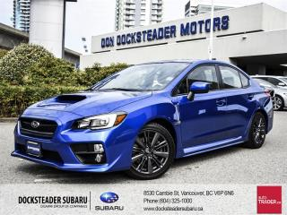 Used 2015 Subaru WRX 4Dr Sport-Tech Pkg 6sp for sale in Vancouver, BC