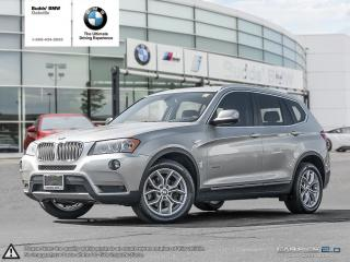 Used 2014 BMW X3 xDrive28i NAV|AWD|SUNROOF|ROOF RAILS for sale in Oakville, ON