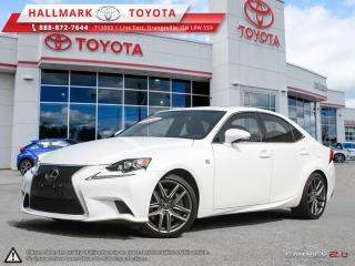 Used 2016 Lexus IS 350 AWD for sale in Mono, ON