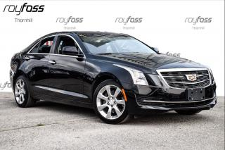 Used 2015 Cadillac ATS Standard AWD for sale in Thornhill, ON