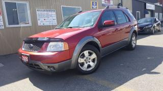 Used 2005 Ford Freestyle SEL-6 PASS-DUAL AIR/HEAT-PWR SEAT-CLEAN for sale in Tilbury, ON