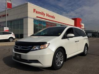 Used 2014 Honda Odyssey EX-L w/Navi for sale in Brampton, ON