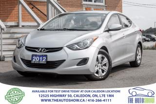 Used 2012 Hyundai Elantra GLS | ECONOMY CAR for sale in Caledon, ON