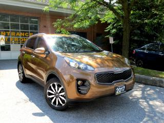 Used 2017 Kia Sportage EX , AWD,BackUp Cam , PushStart , Factory Warranty for sale in Concord, ON