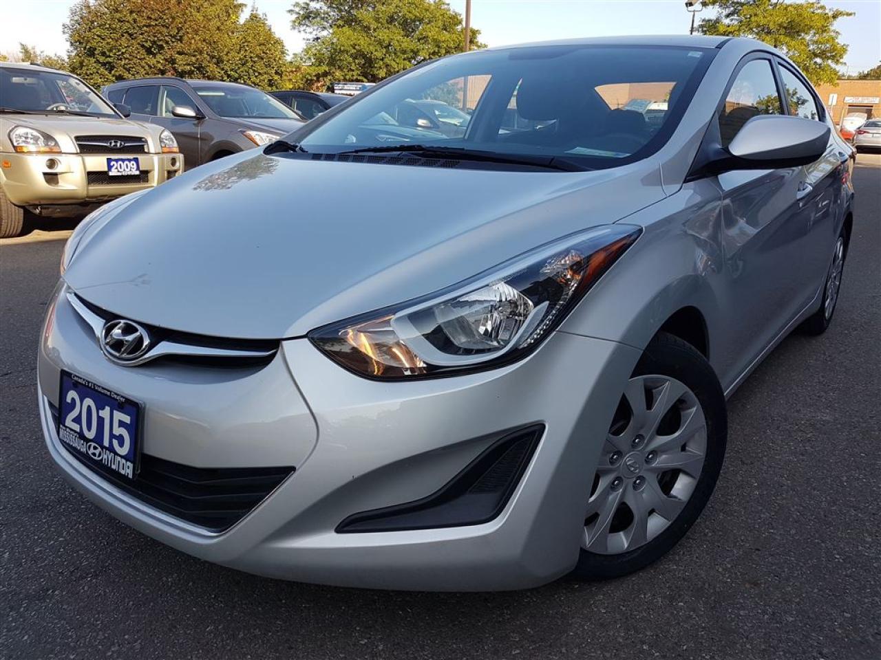 Photo of Silver 2015 Hyundai Elantra