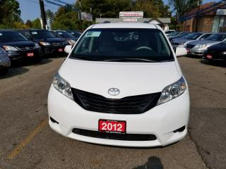 Used 2012 Toyota Sienna CE ONTARIO CAR, ACCIDENT FREE for sale in Brampton, ON