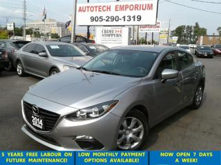 Used 2014 Mazda MAZDA3 GX-SKY Auto Low KM Btooth&ABS for sale in Mississauga, ON