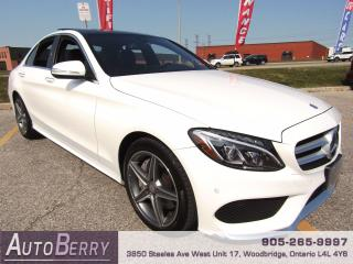 Used 2015 Mercedes-Benz C-Class C300 - 4MATIC - 2.0L for sale in Woodbridge, ON