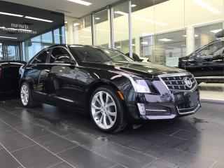 Used 2013 Cadillac ATS Premium, Navigation, Heated Steering Wheel/Seats for sale in Edmonton, AB