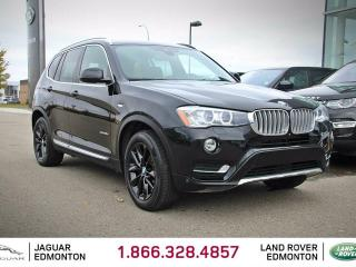 Used 2015 BMW X3 xDrive28d - Local One Owner | 2 Sets of Rims/Tires Included | 3M Protection Applied | Navigation | Surround Camera System | Parking Sensors | Heads Up Display | Blind Spot Monitor | Lane Departure Warning | Collision Warning | Panoramic Sunroof | Heated S for sale in Edmonton, AB