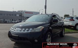 Used 2004 Nissan Murano SL |AS-IS SUPER SAVER| for sale in Scarborough, ON