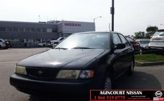 Used 1998 Nissan Sentra Base |AS-IS SUPER SAVER| for sale in Scarborough, ON