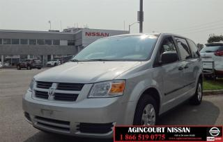 Used 2010 Dodge Grand Caravan SE |Power Windows|Power Locks|Power Seats| for sale in Scarborough, ON