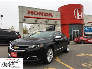 Used 2015 Chevrolet Impala LTZ, very sarp car, low mileage for sale in Scarborough, ON