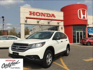 Used 2012 Honda CR-V LX, one owner, clean carproof, AWD for sale in Scarborough, ON