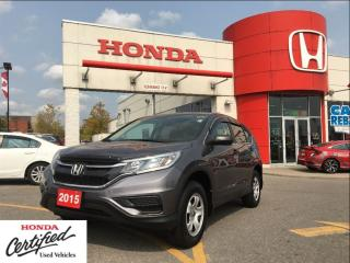 Used 2015 Honda CR-V LX, ORIGINAL ROADSPORT VEHICLE for sale in Scarborough, ON
