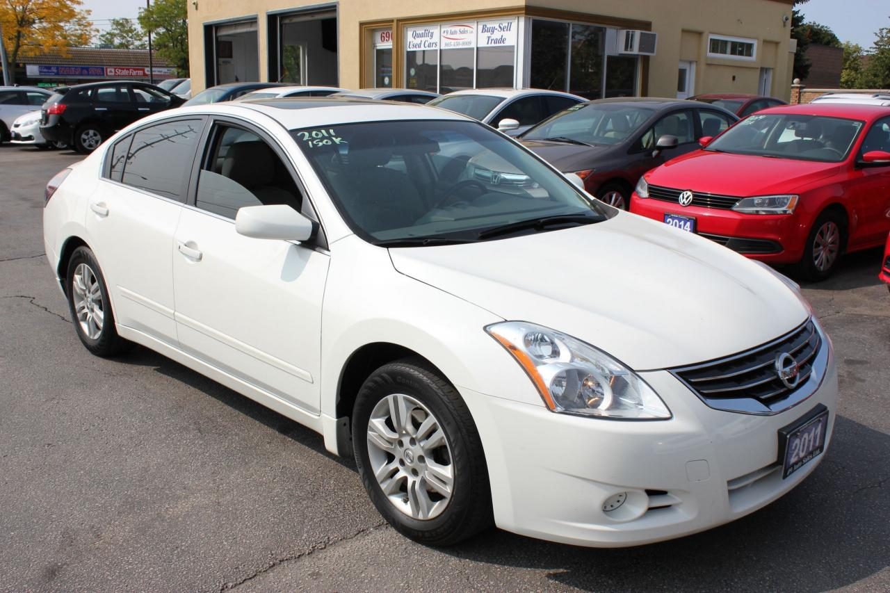 2011 Nissan Altima 2.5 Sunroof Bluetooth Alloy Wheels