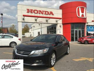 Used 2014 Honda Accord Sedan Touring, loaded, navi, leather, power roof for sale in Scarborough, ON