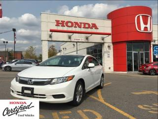Used 2012 Honda Civic EX, power roof, very low kilometers for sale in Scarborough, ON