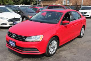 Used 2015 Volkswagen Jetta Trendline+ Sunroof Backup Cam Bluetooth for sale in Brampton, ON