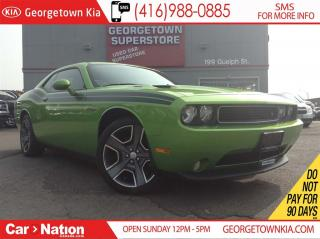 Used 2011 Dodge Challenger R/T | NAVI | 2, 937KMS | 1 OWNER | RARE COLOR | for sale in Georgetown, ON