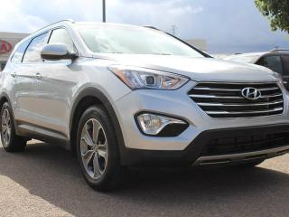 Used 2016 Hyundai Santa Fe XL XL, FRONT / MID HEATED SEATS, HEATED WHEEL, BACKUP CAM, POWER TAILGATE, REAR CLIMATE CONTROL, for sale in Edmonton, AB