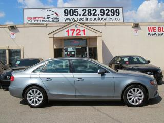 Used 2010 Audi A4 AWD, Leather, Sunroof, WE APPROVE ALL CREDIT for sale in Mississauga, ON