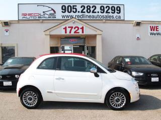 Used 2013 Fiat 500 C Convertible, Red Leather, WE APPROVE ALL CREDIT for sale in Mississauga, ON